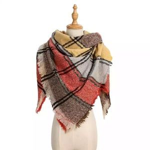 Fall colors scarves